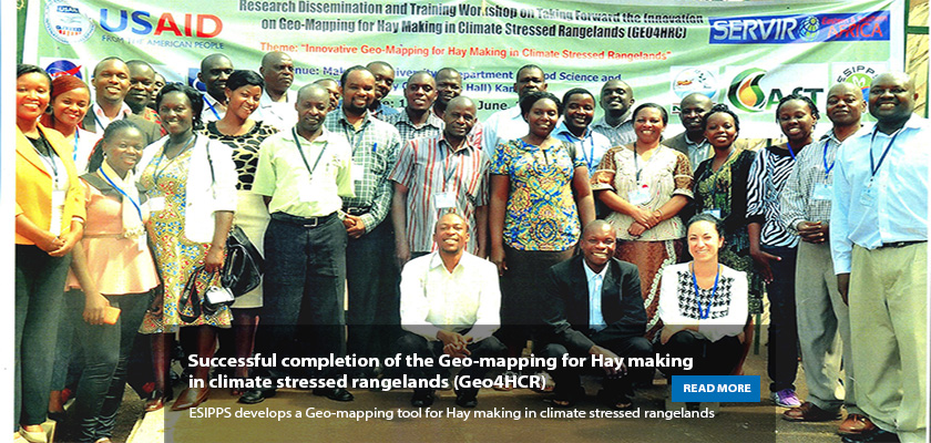 Workshop Geo-mapping for hay making