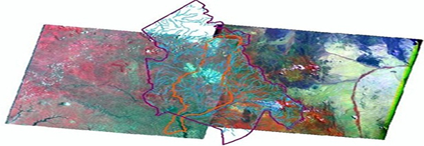 Satellite Images used in Rangeland Health Mapping