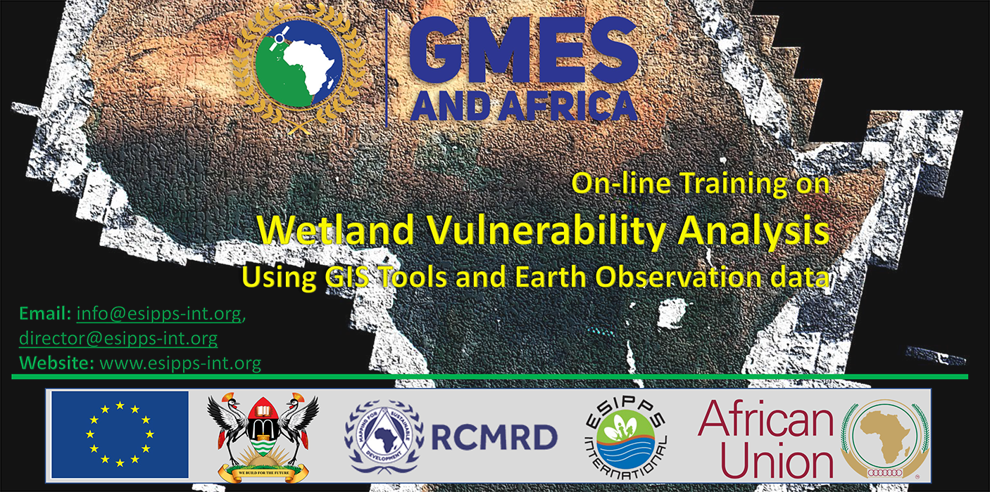 Training Workshop: Wetland Vulnerability Analysis using GIS and Earth Observation data